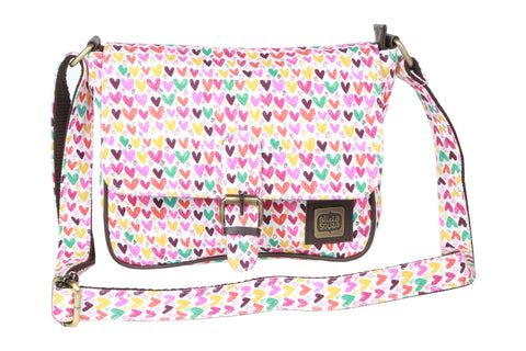 Hearts and Hearts Sling Bag