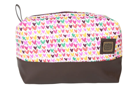 Hearts And Hearts Travel Pouch