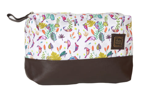 Parrot and Peace Travel Pouch