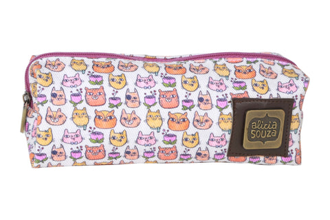 Happy Cats Pencil Pouch