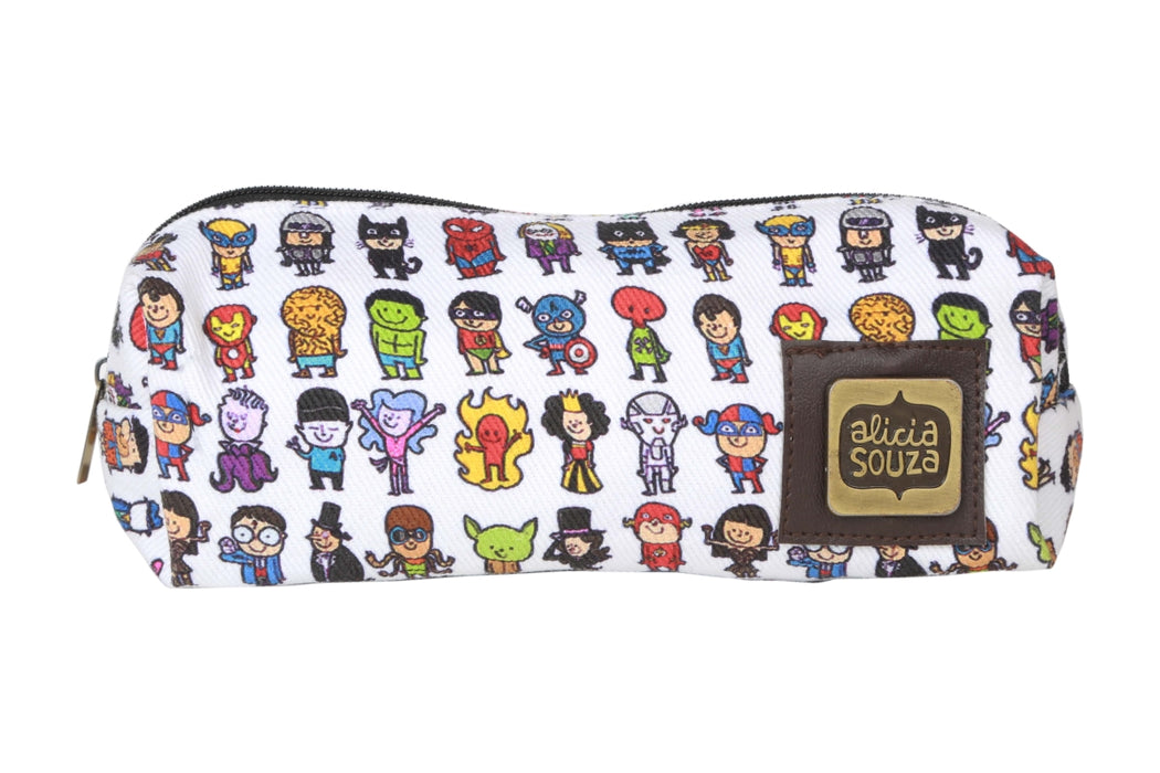 Superhero Pencil Pouch - Alicia Souza