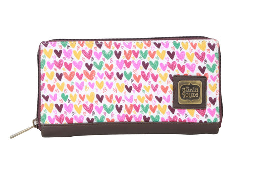 Hearts And Hearts Wallet - Alicia Souza