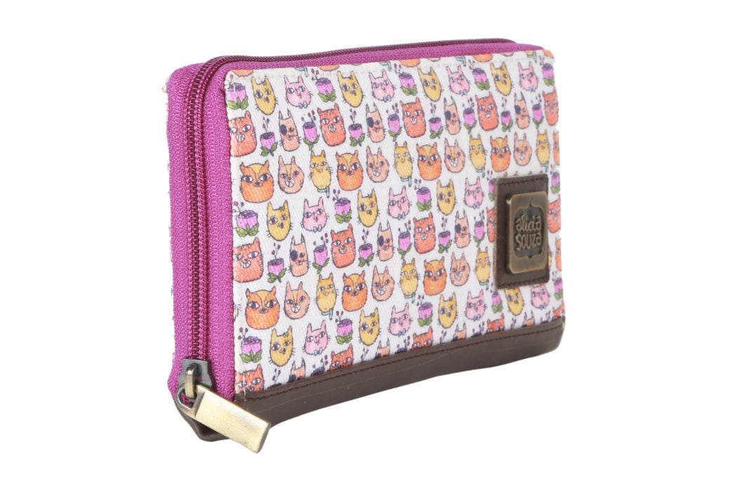 Happy Cats Wallet - Alicia Souza