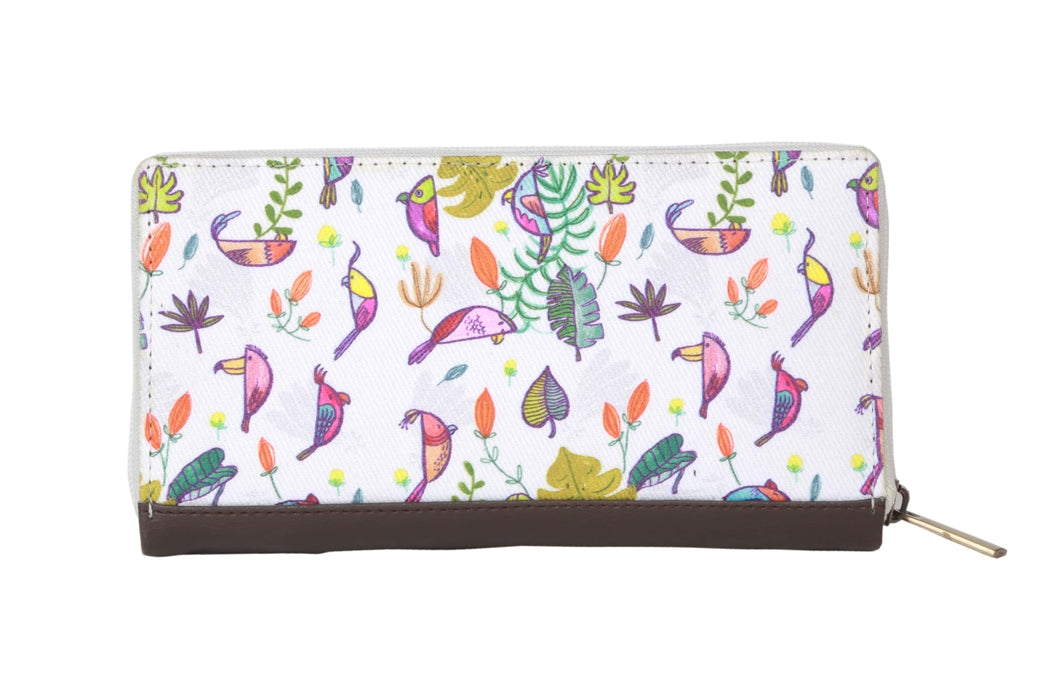 Parrots and Peace Wallet - Alicia Souza