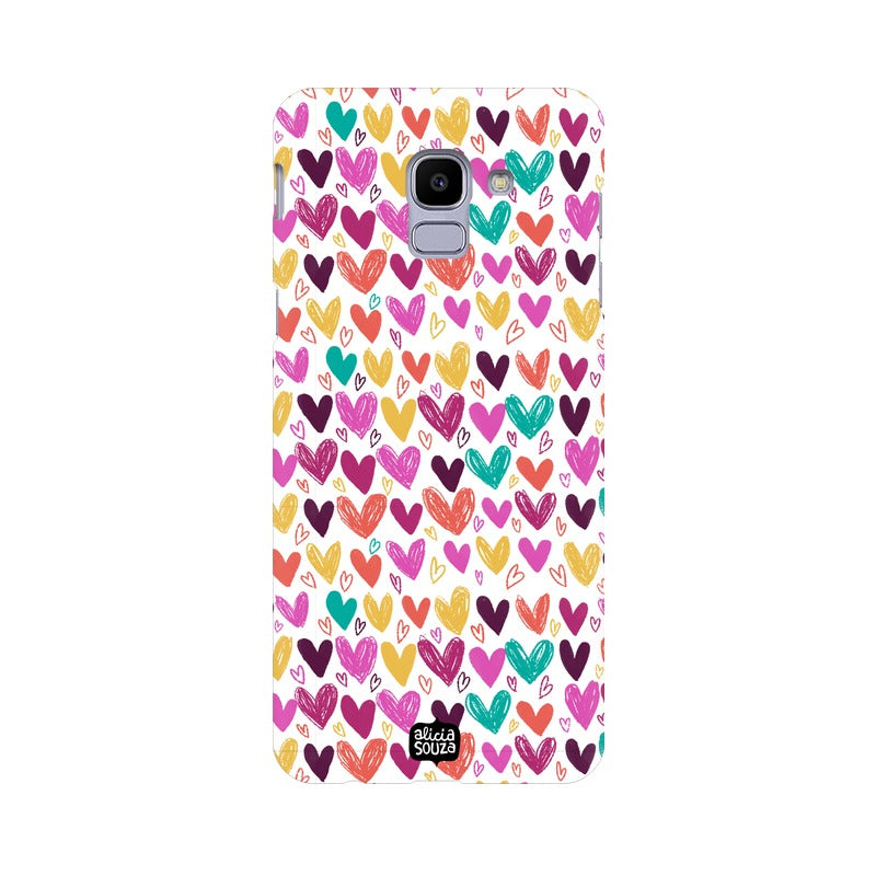 Hearts Phone Cover