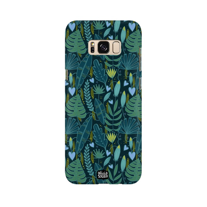 Green leaves Phone Cover