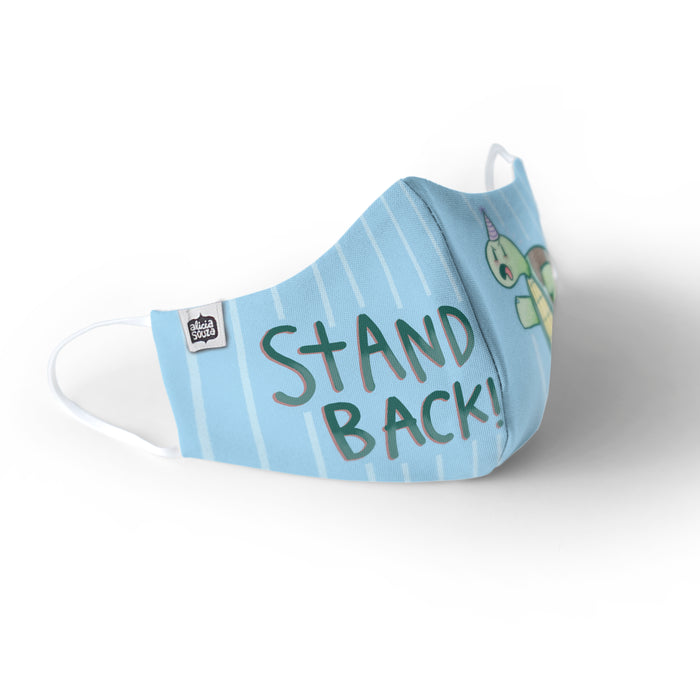 Stand Back Face Mask - Kids