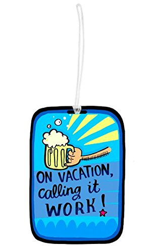 Vacation Luggage Tag - Alicia Souza