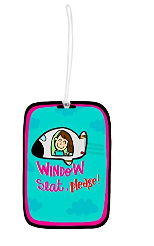 Window Seat Luggage Tag - Alicia Souza