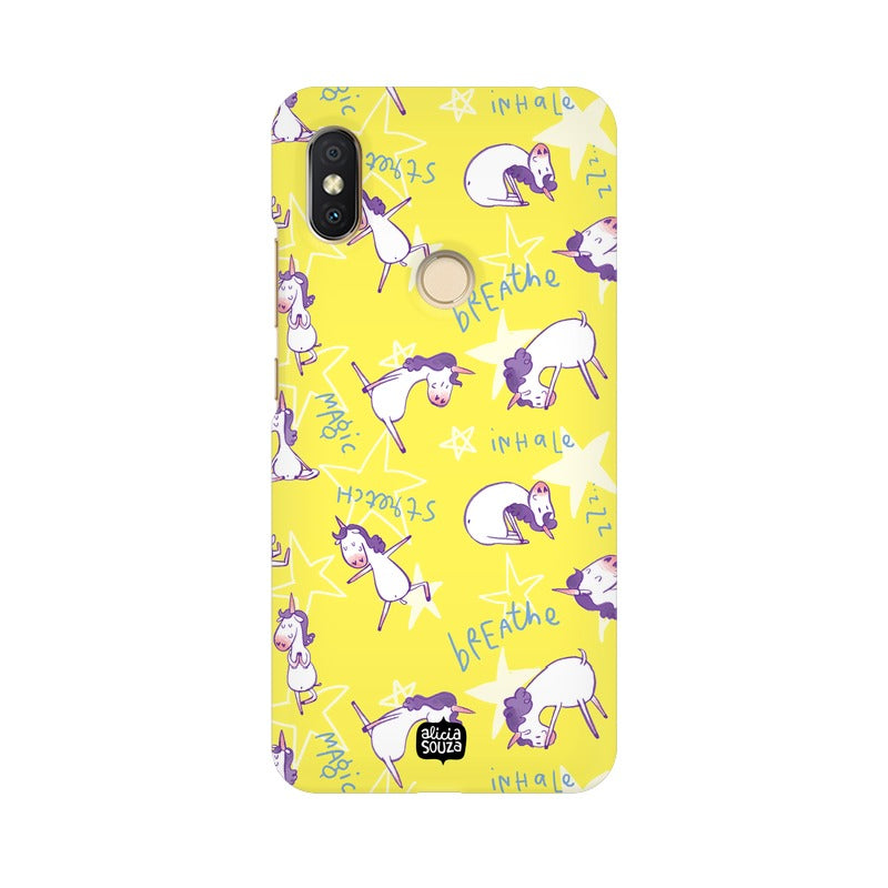 Yoga Unicorn Phone Cover