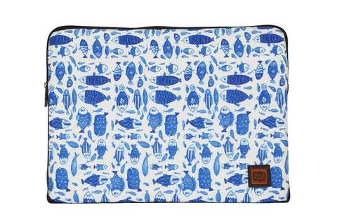 Accessories - China-blue Fish Laptop Sleeve