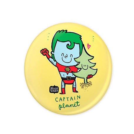 Captain Planet Badge - Alicia Souza