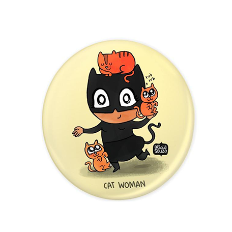 Catwoman Badge