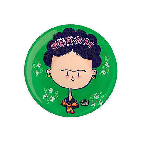 Frida Badge - Alicia Souza
