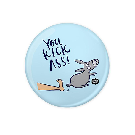Kick Ass Badge - Alicia Souza