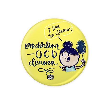 OCD Cleaner Badge