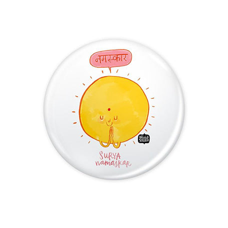 Surya Namaskar Badge - Alicia Souza