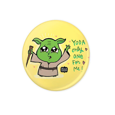 Yoda Badge - Alicia Souza
