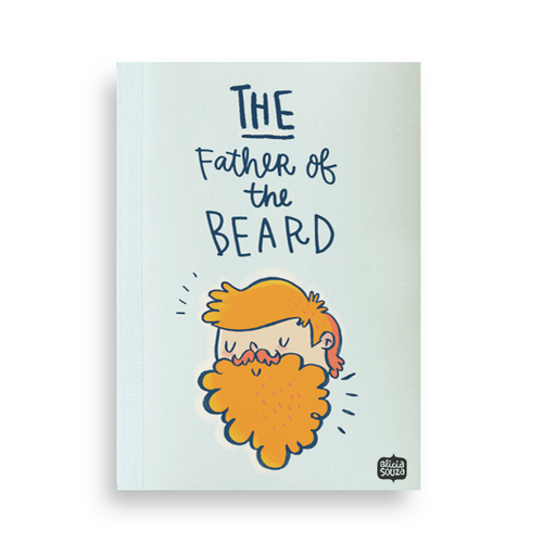 Father Of The Beard Jotbook - Alicia Souza