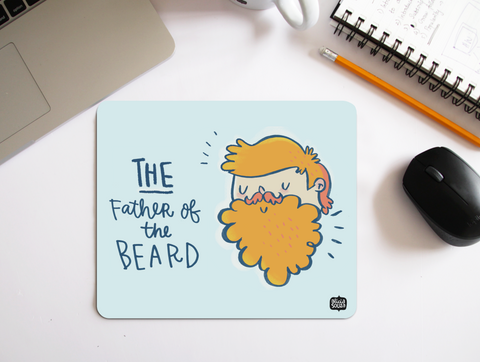Father of the Beard Mouse Pad - Alicia Souza