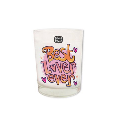 Best Lover Ever Shot Glass Candle