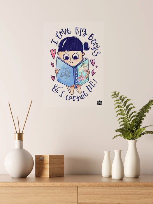 Big Books Decal