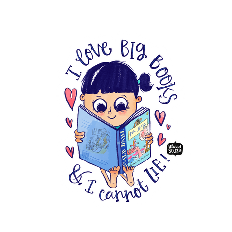 Big Books Sticker