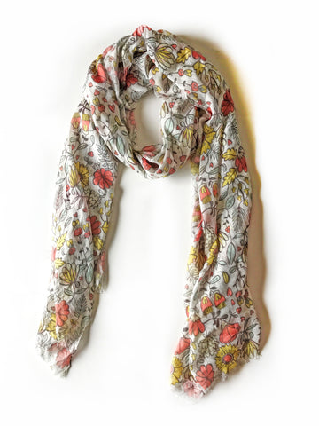 Blossoming Scarf
