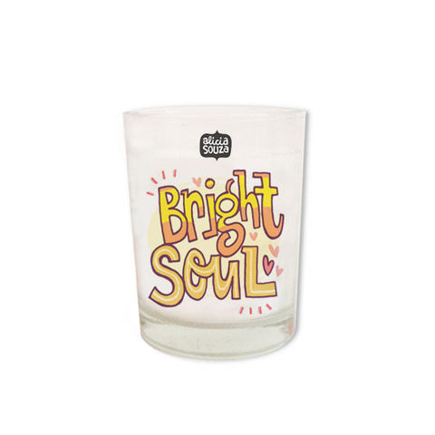 Bright Soul Shot Glass Candle