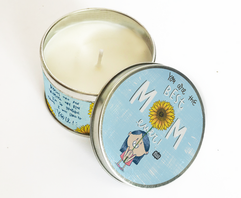 Best Mom Scented Tin Candle