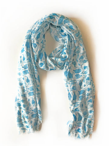 China Fish Scarf