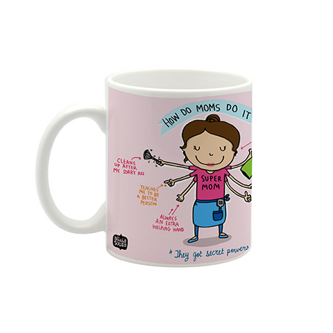 Wonder mom small mug