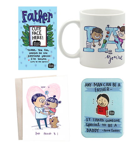 Papa Coffee Mug Hamper