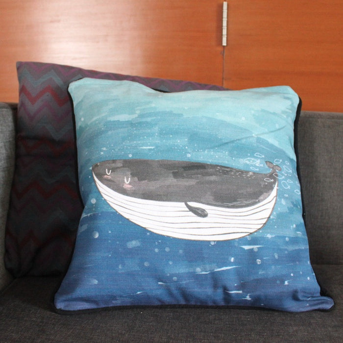 Cushion Cover - Seaworld Dual-sided Cushion Cover