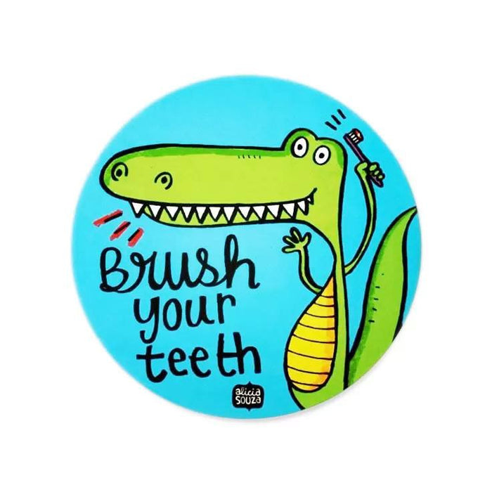 Brush Your Teeth! Decal - Alicia Souza