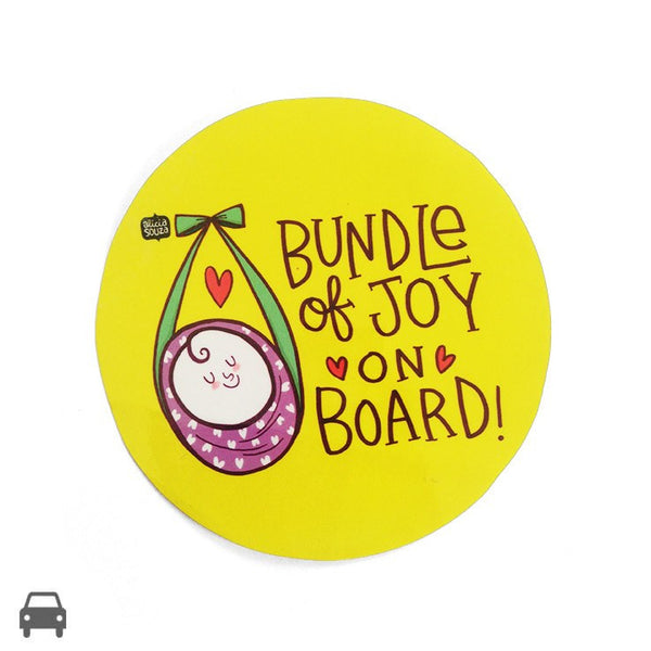 Decal - Bundle Of Joy On Board Decal