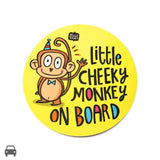 Cheeky Monkey Car Decal