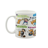 Dog Taught Me Small Mug