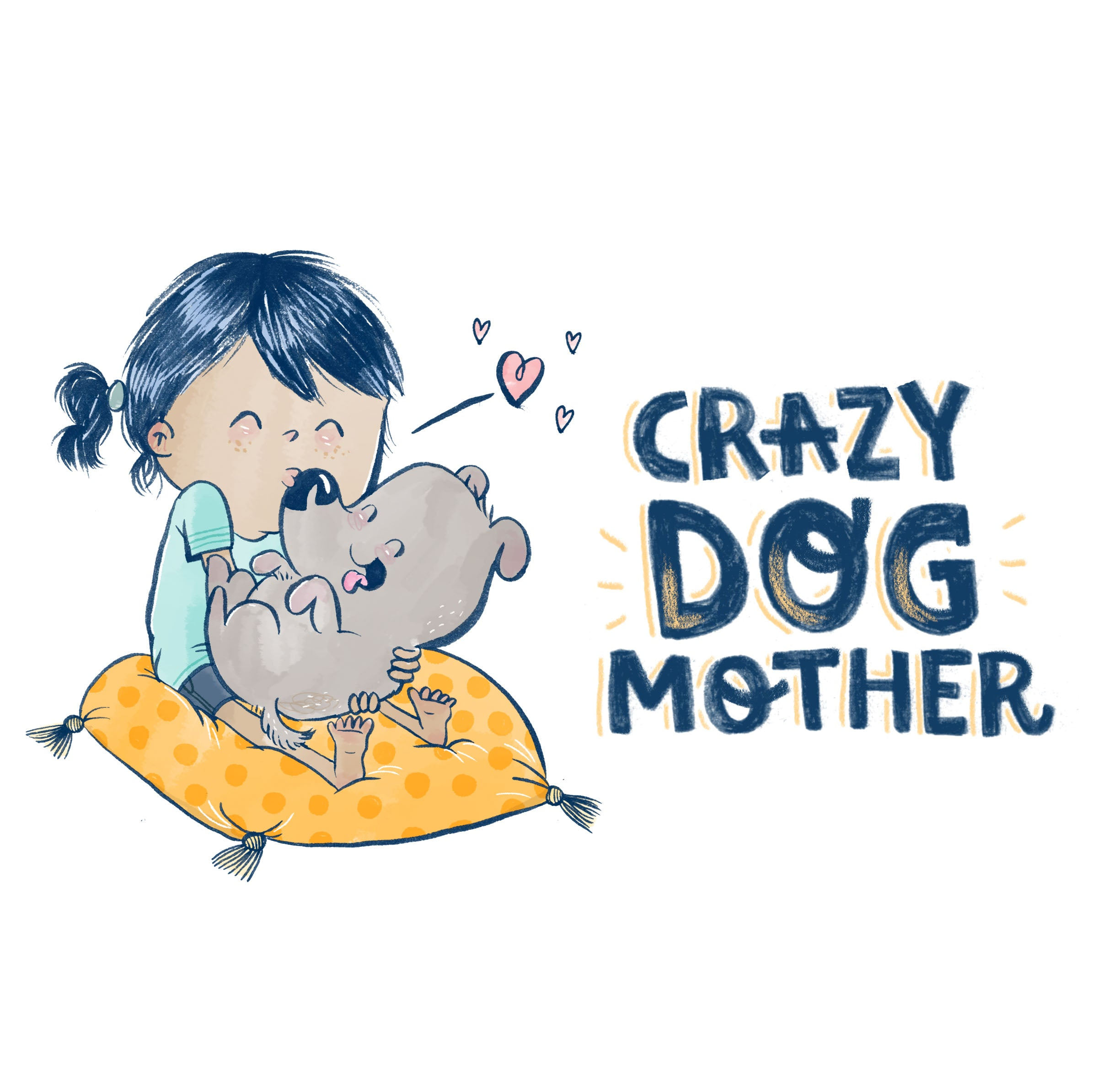 Dog Mother T-shirt
