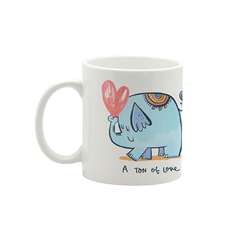 Ton Of Love Mug Small