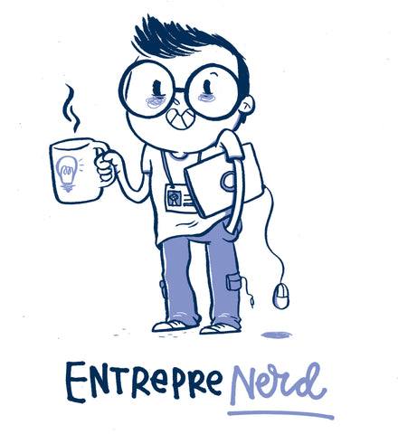 Entreprenerd Man T-shirt