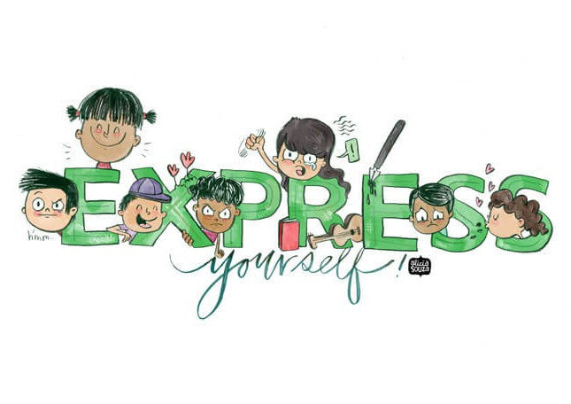 Express Yourself Decal - Alicia Souza