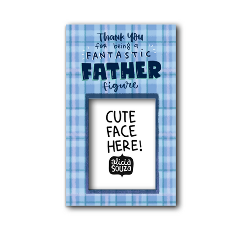 Fantastic Father Magnetic Frame - Alicia Souza