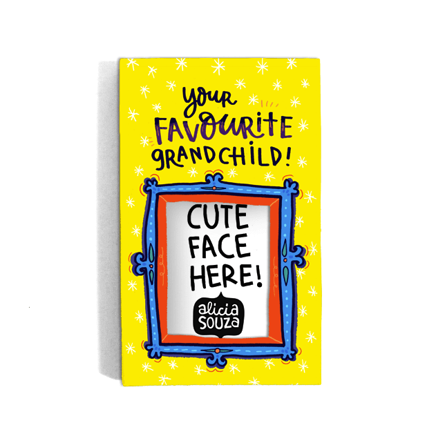 Favourite Grandchild Magnetic Frame - Alicia Souza