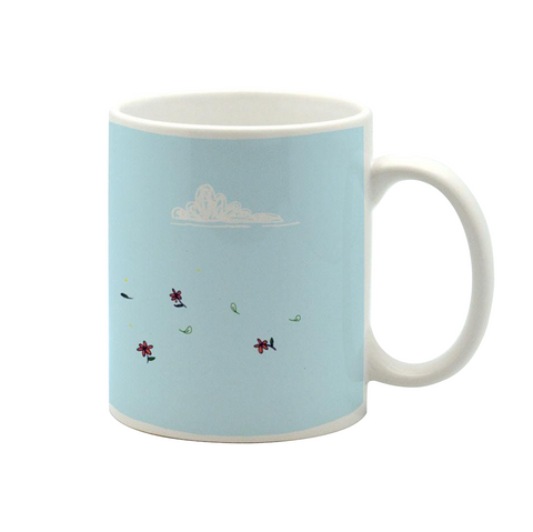 Blowing In The Wind Mug - Alicia Souza