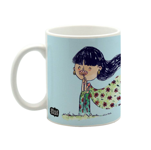 Blowing In The Wind Mug