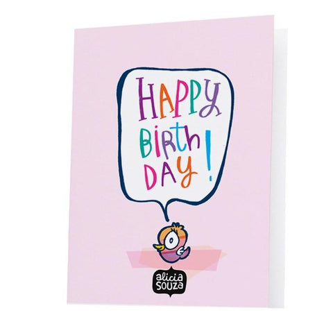 Birthday Bear Greeting Card - Alicia Souza