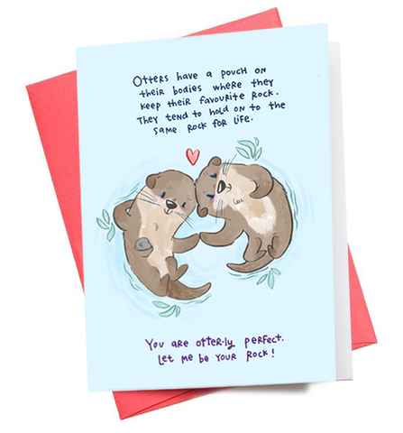 Otters Greeting