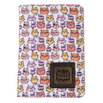 Happy Cats Passport Cover