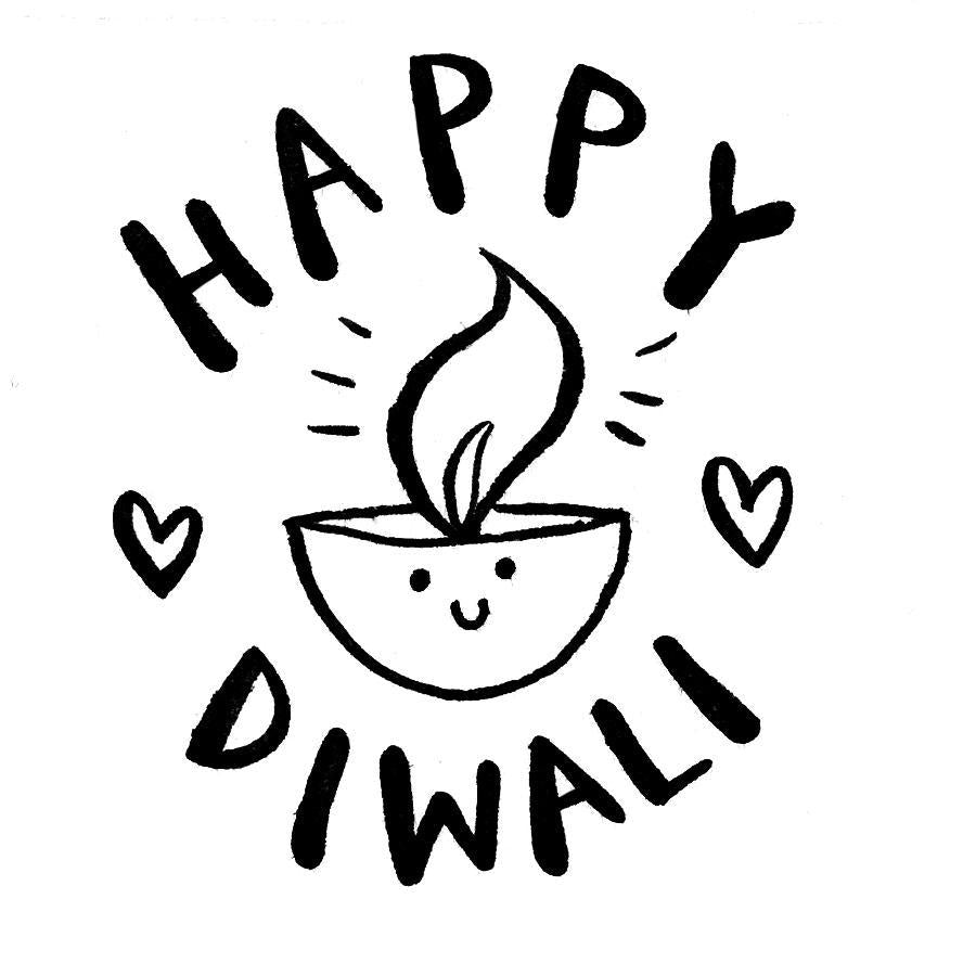 Happy Diwali Stamp - Alicia Souza